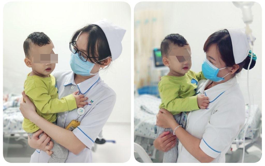 Tình trạng sức khoẻ của bé T hiện đã ổn định. Ảnh: Bệnh viện cung cấp