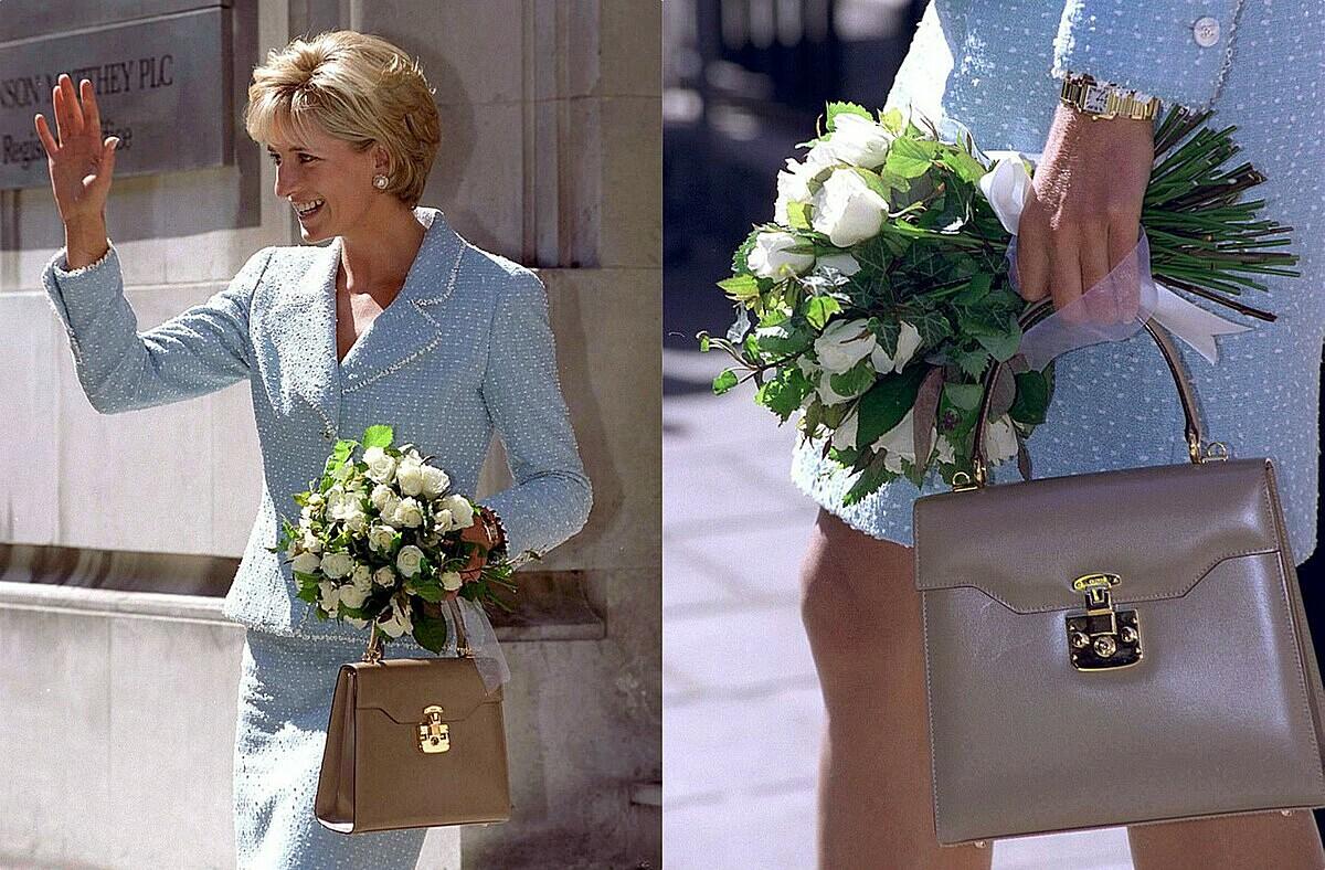 Công nương Diana từng đeo chiếc đồng hồ Cartier Tank Française.