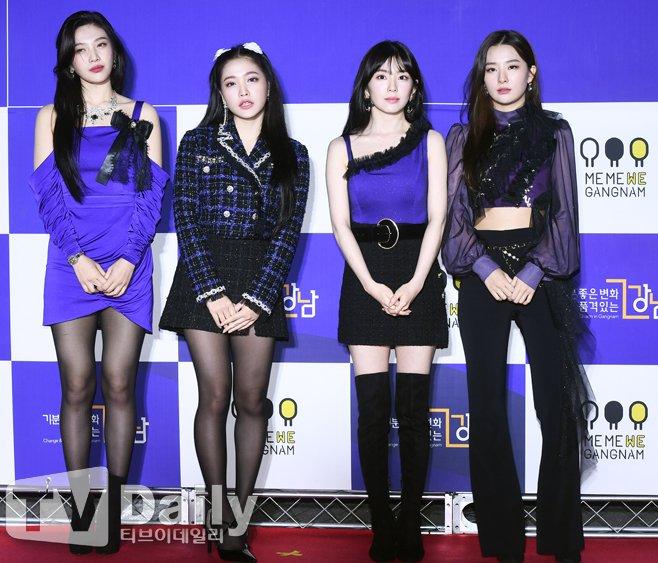 Irene mất danh hiệu visual vào tay Joy trên thảm đỏ