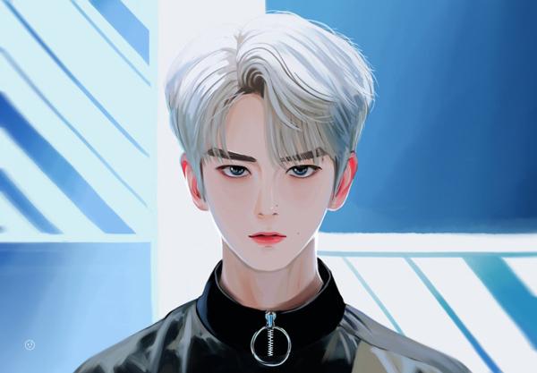 Bạn có nhận ra ai với ai qua fan art của sao Hàn? - 1