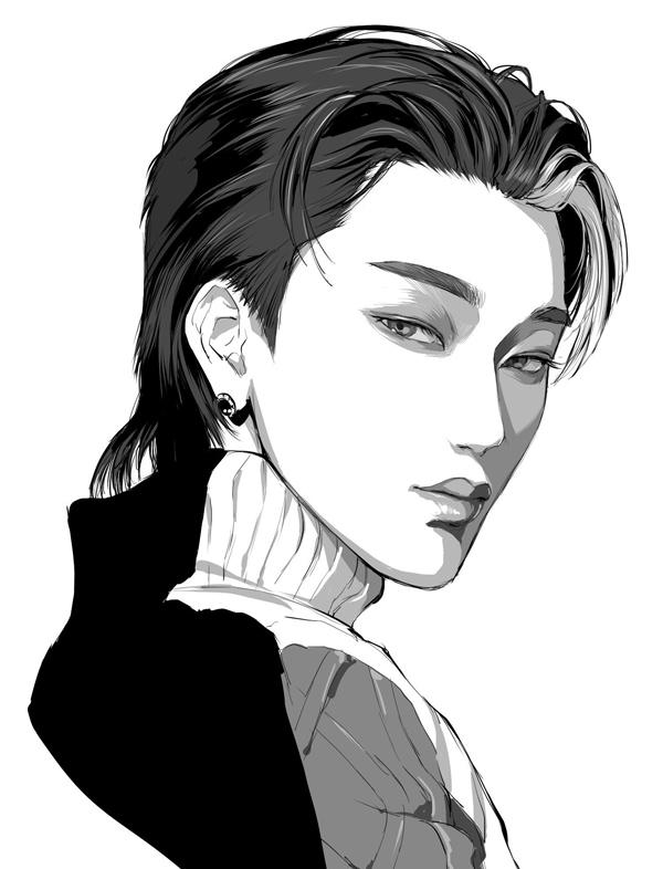 Bạn có nhận ra ai với ai qua fan art của sao Hàn? - 9
