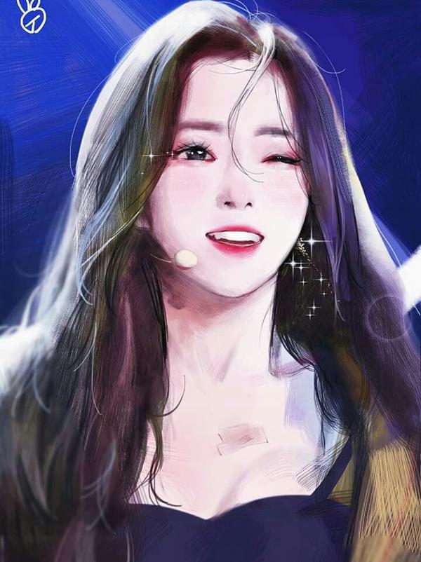 Bạn có nhận ra ai với ai qua fan art của sao Hàn? - 11