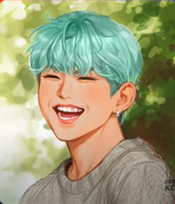 Bạn có nhận ra ai với ai qua fan art của sao Hàn? - 15