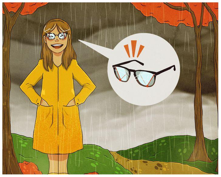 Ước mơ có một cần gạt kính giống như xe hơi khi đi trời mưa.