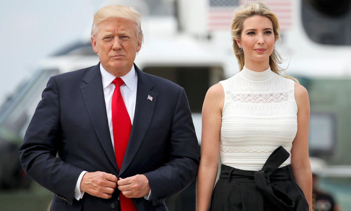 Gần đây Ivanka cùng chồng cũng trở thành những cái tên nổi tiếng trong chiến dịch vận động và gây quỹ của đảng Cộng hòa. Ivanka đã thu về 35 triệu USD cho nỗ lực tái tranh cử của cha -  phá vỡ kỷ lục gây quỹ trong một ngày của cựu tổng thống Barack Obama.