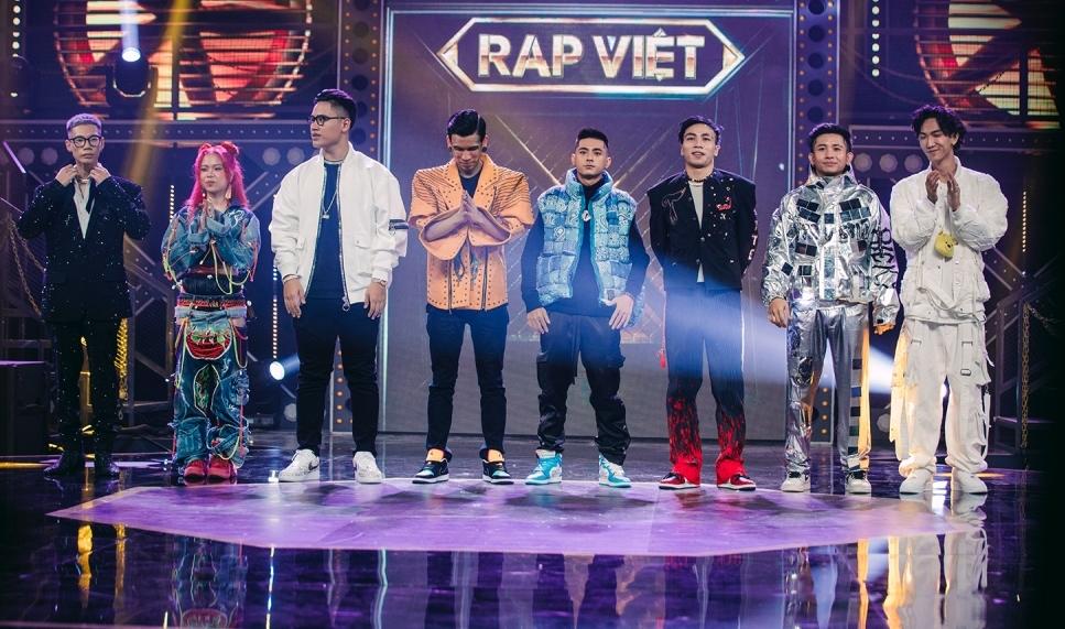 8 thí sinh vào vòng chung kết Rap Việt.re3
