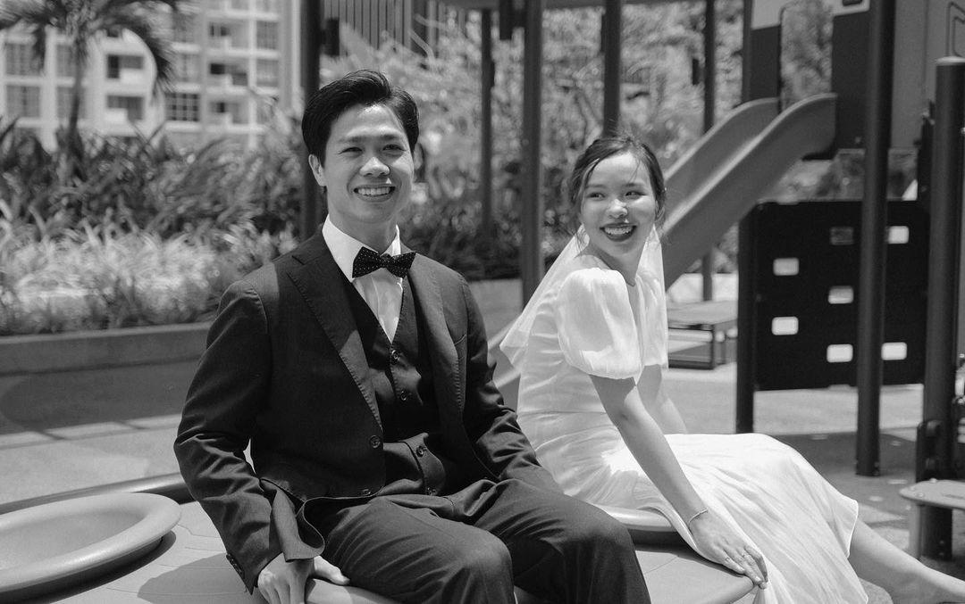 Bức ảnh chụp Công Phượng - Viên Minh. Ảnh: Congphuongfamily/Công Phượng FC.