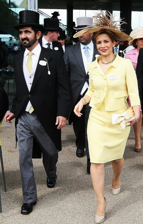 Công chúa Haya (46 tuổi) - người vợ thứ 6 và trẻ nhất của tỉ phú Sheikh Mohammed Al Maktoum.
