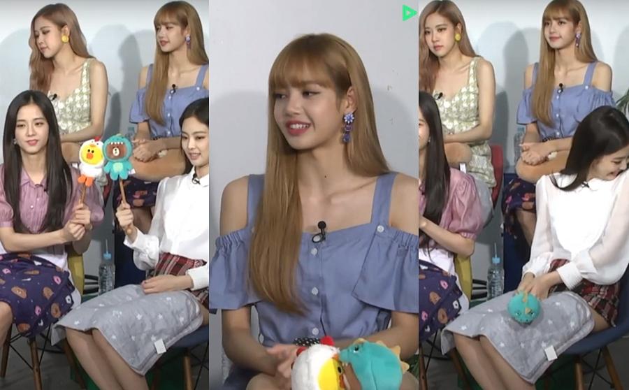 Hành động lạ của Ji Soo - Jennie (Black Pink) tại buổi phỏng vấn - 2