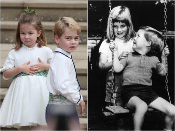 10 khoảnh khắc cho thấy công chúa Charlotte như bản sao nhí của công nương Diana - 14