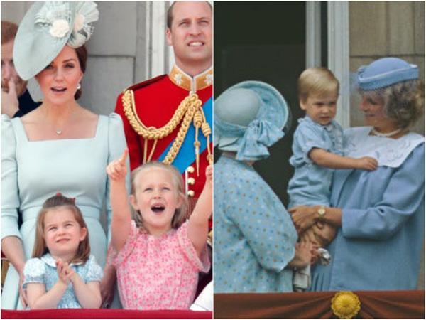 10 khoảnh khắc cho thấy công chúa Charlotte như bản sao nhí của công nương Diana - 10