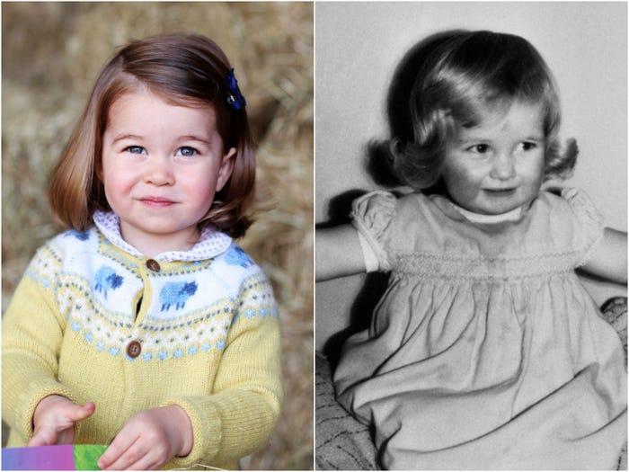 10 khoảnh khắc cho thấy công chúa Charlotte như bản sao nhí của công nương Diana - 2