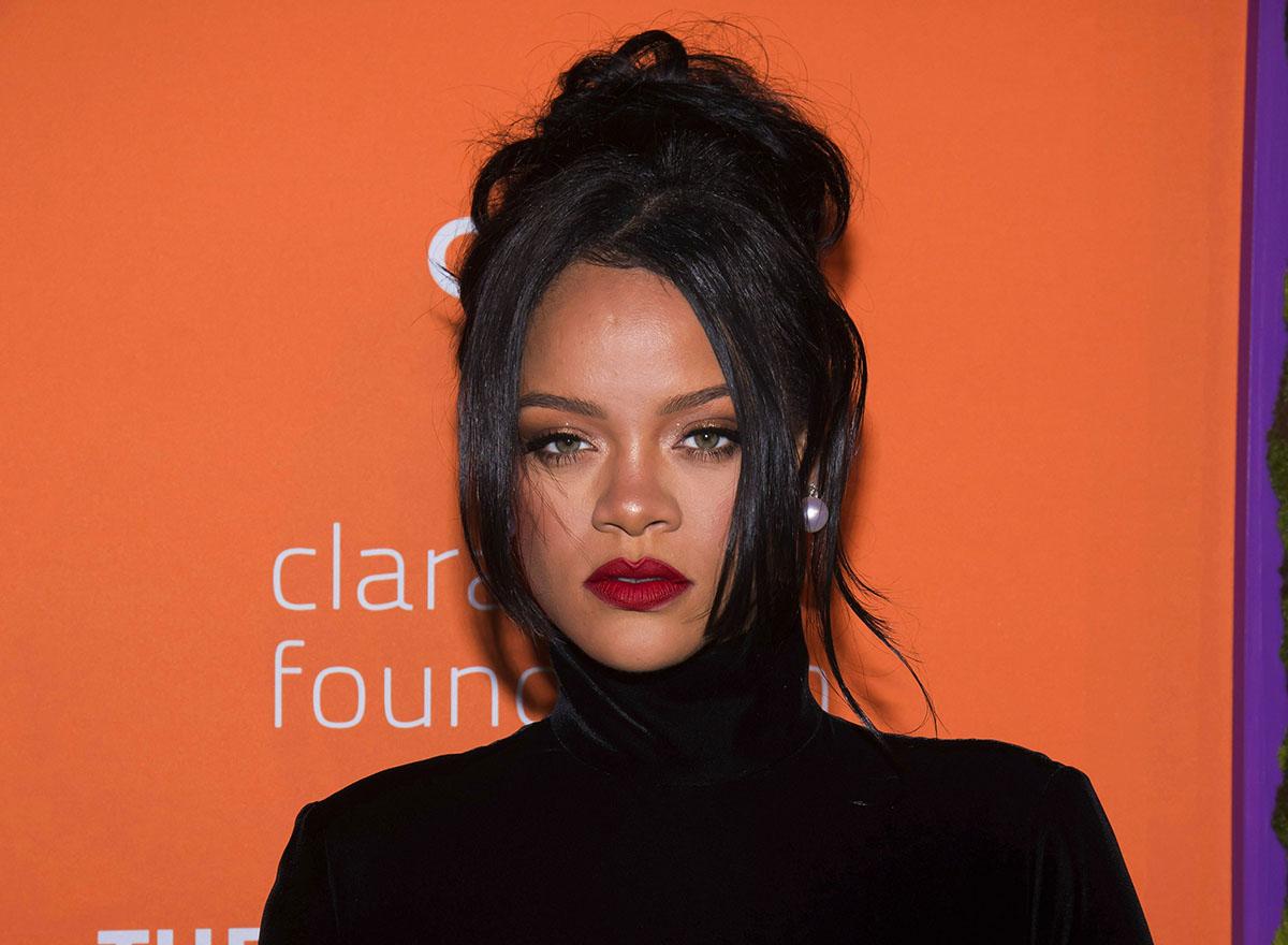 Rihanna. Ảnh: AP.