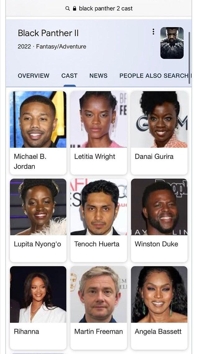 Xôn xao tin đồn Rihanna đóng Black Panther 2  - 1