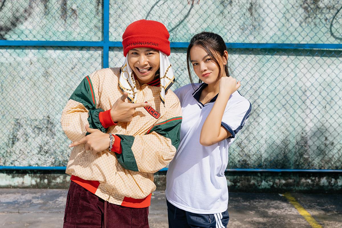 Phạm Quỳnh Anh lần đầu hợp tác Ricky Star.