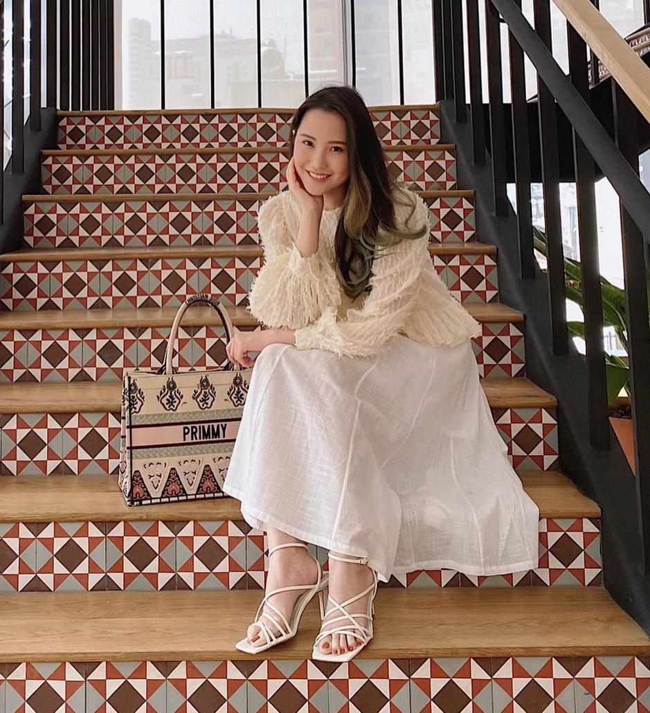 Phong cách tiểu thư đơn giản mà sang của vợ sắp cưới Phan Thành - 10