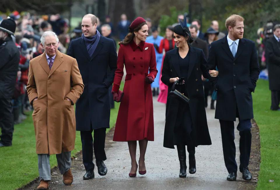 Gia đình hoàng gia Anh.