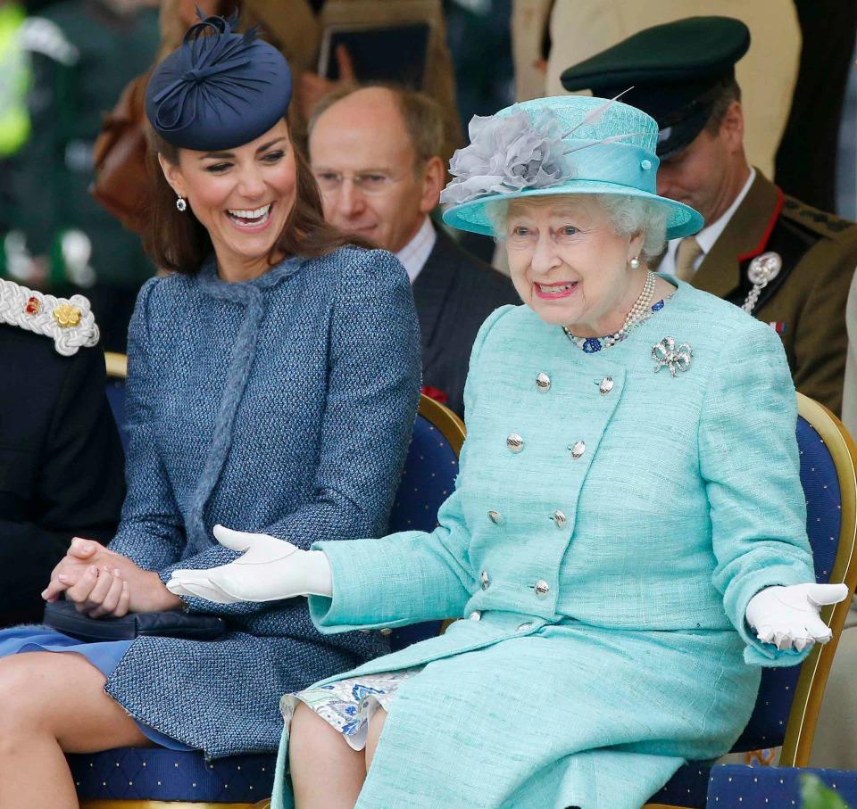 Chị dâu Kate Middleton xếp sau Meghan và Nữ hoàng ở vị trí thứ 3, theo khảo sát của OnBuy. Ảnh: Getty.