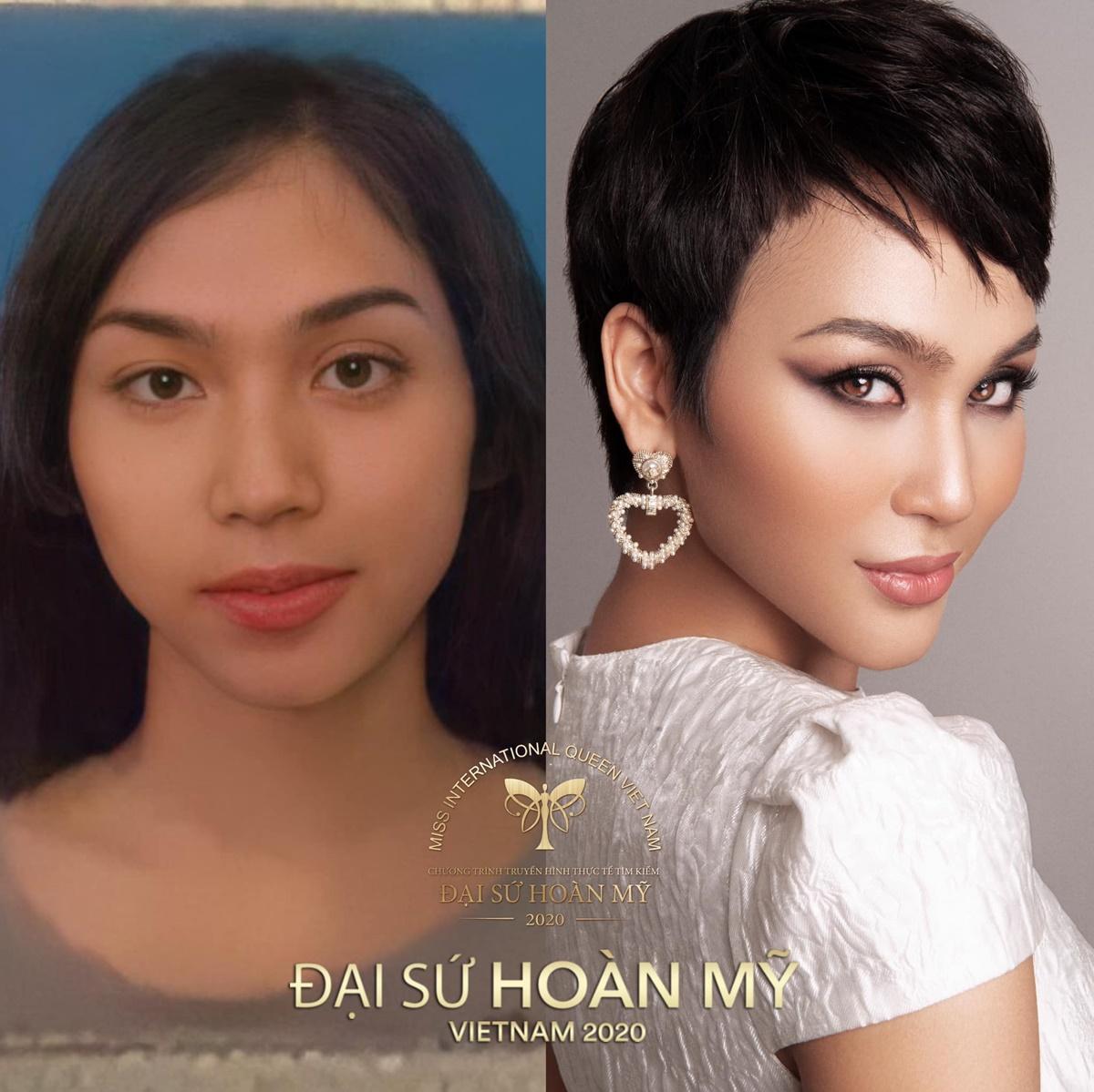 Cadie Huỳnh Anh sinh năm 1994, cao 174 cm, số đo ba vòng 84-60-90. Cô là người mẫu tự do. Tôi đến với cuộc thi mang theo nguồn năng lượng tích cực. Tôi hy vọng mình sẽ đạt kết quả tốt, cô nói.