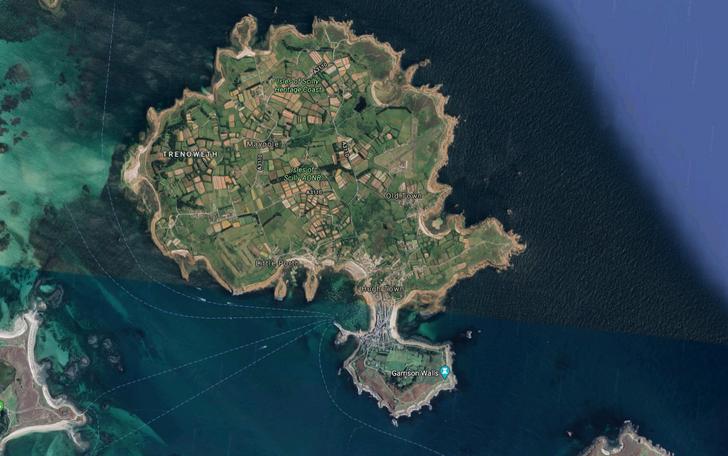 Những hòn đảo lạ lùng hình cá ngựa, gà, pizza... - 24