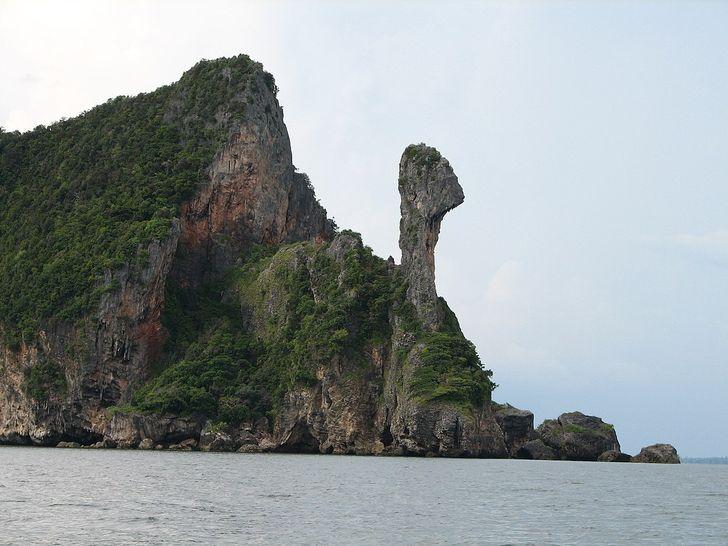 Những hòn đảo lạ lùng hình cá ngựa, gà, pizza... - 2