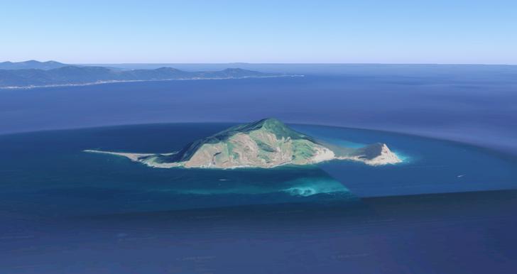 Những hòn đảo lạ lùng hình cá ngựa, gà, pizza... - 8