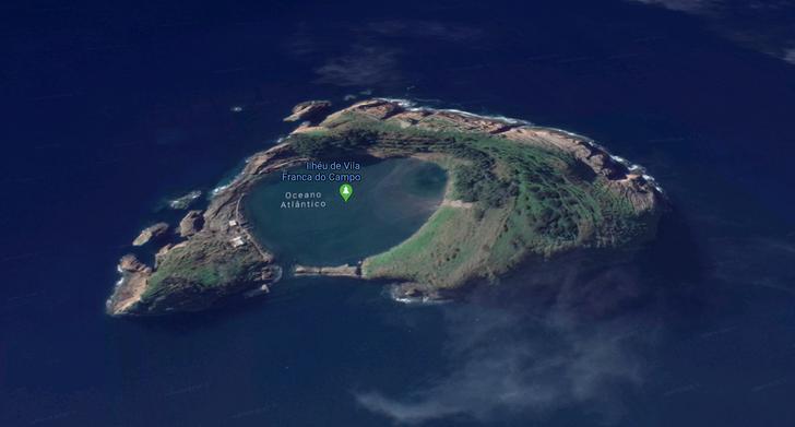 Những hòn đảo lạ lùng hình cá ngựa, gà, pizza... - 14