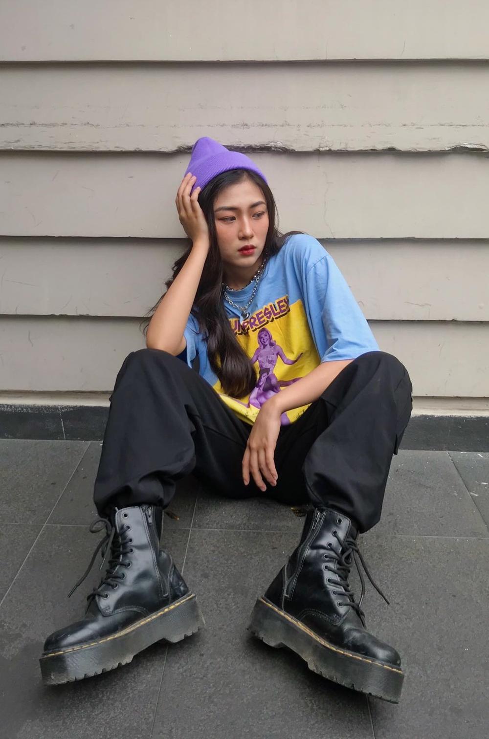 Trang Yue muốn hướng đến là cô gái nổi loạn, xinh đẹp nhưng vẫn phải có chút bí ẩn riêng.