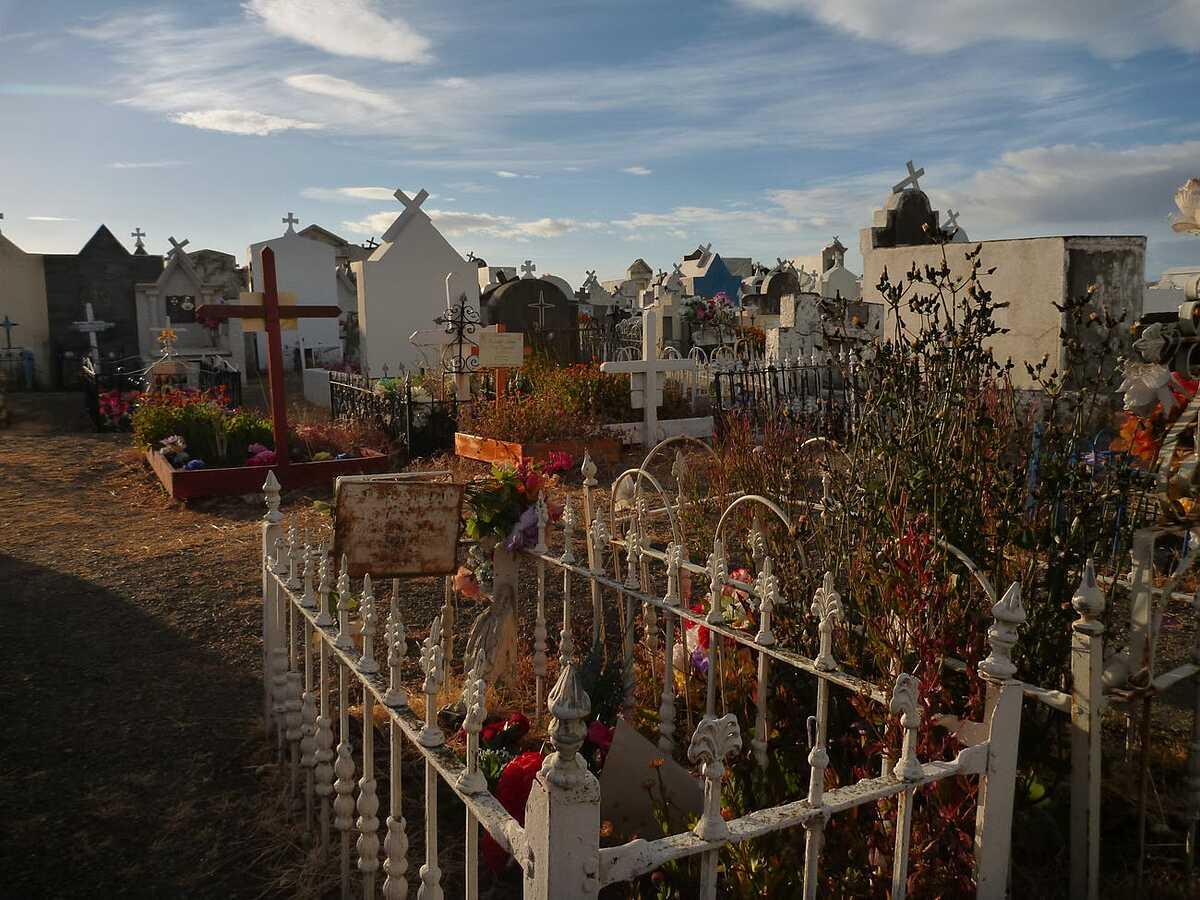 Một nghĩa trang ở Punta Arenas, Chile. Ảnh: luciezr / Shutterstock