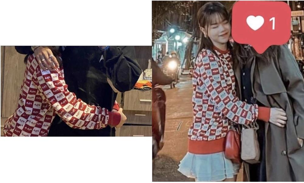 Đỉnh điểm cho nghi vấn này là bức ảnh ôm eo tình tứ của Huỳnh Anh và một người giấu mặt. Người giấu mặt có phụ kiện nhẫn và vòng giống y hệt R.Tee khiến fan thêm khẳng định tình yêu mới của Huỳnh Anh là chàng rapper.