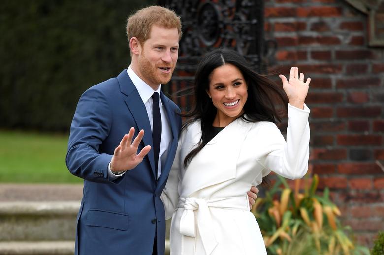 Meghan và Hoàng tử Harry. Ảnh: Reuters.