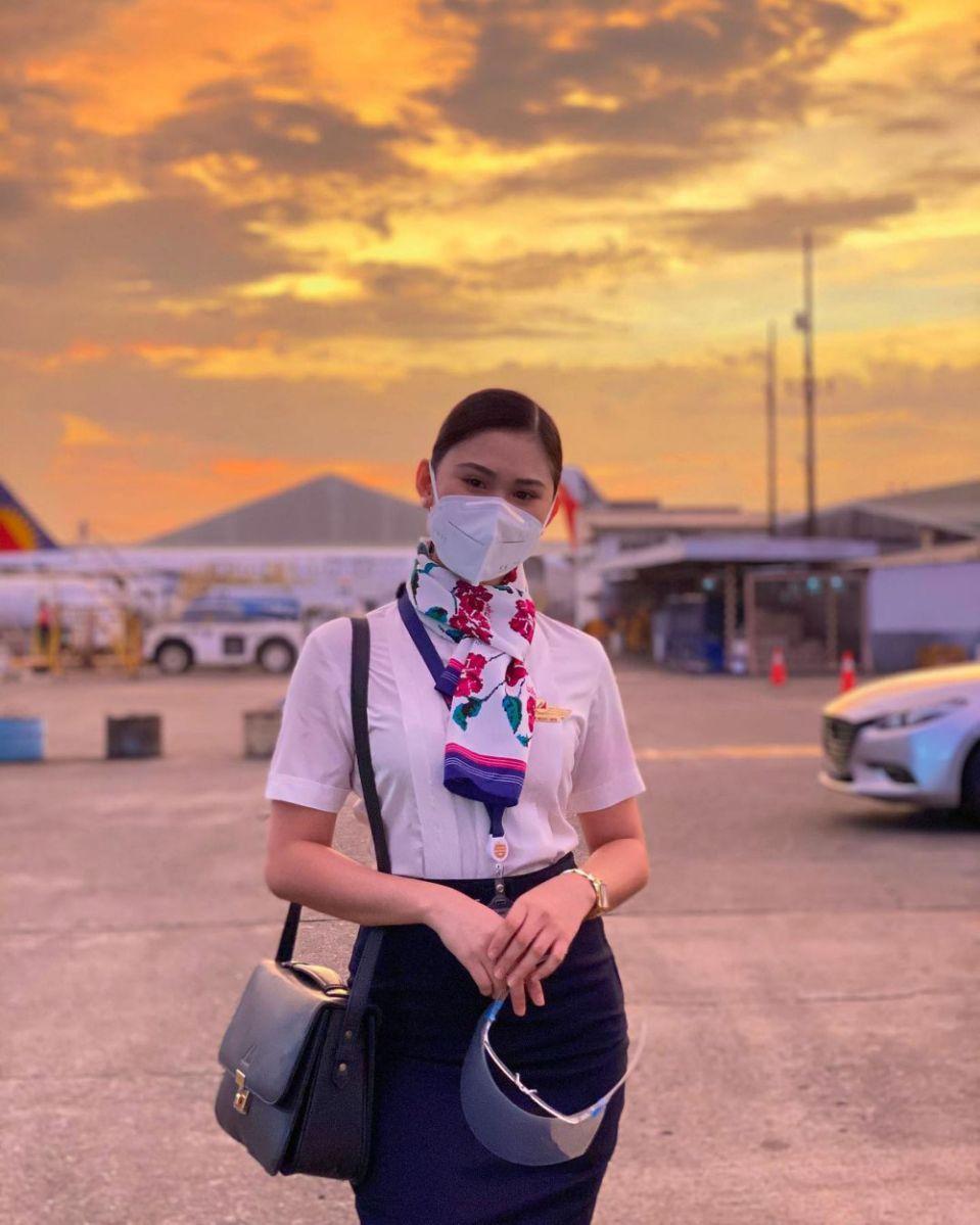 Christine Dacera, nữ tiếp viên hàng không, từng là Á hậu 1 cuộc thi sắc đẹp Hoa hậu thành phố Silva Davao năm 2017.