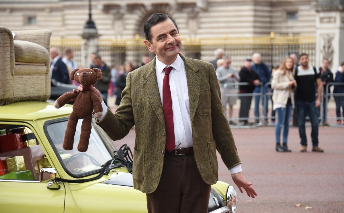 Nam diễn viên Rowan Atkinson trong vai Mr. Bean.