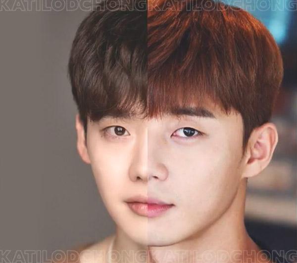 Nhận dạng 2 sao Hàn khi ghép nửa khuôn mặt - 3