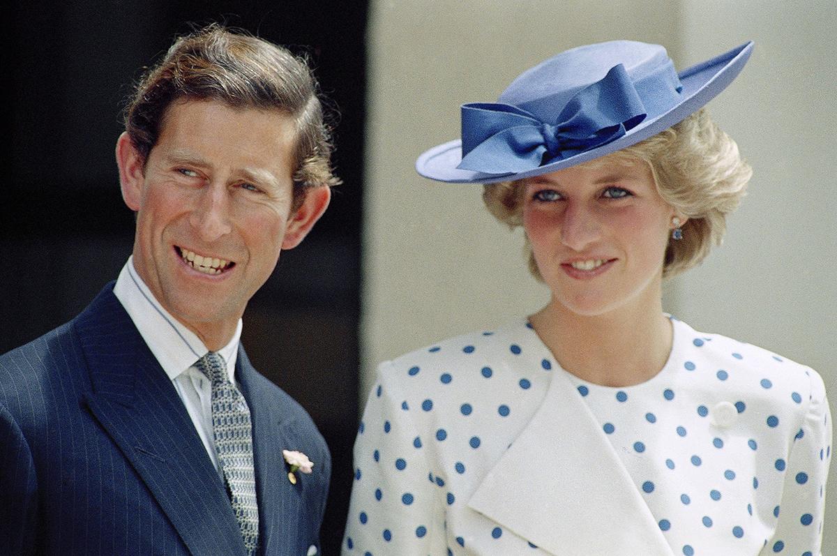 Diana và Charles. Ảnh: AP.
