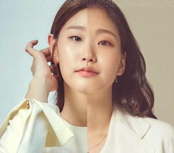 Nhận dạng 2 sao Hàn khi ghép nửa khuôn mặt - 5