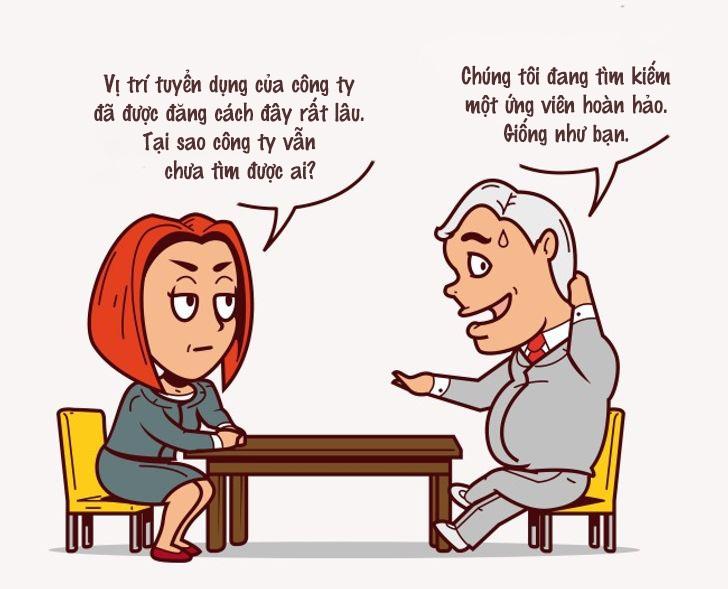 10 dấu hiệu cần lưu ý khi phỏng vấn xin việc - 9