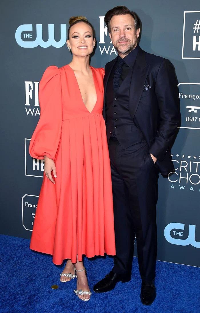 Olivia Wilde và Jason Sudeikis cùng dự sự kiện hồi tháng 1/2020. Ảnh: Shutterstock.