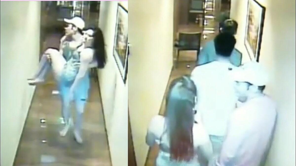 CCTV ghi lại những khoảnh khắc của đêm định mệnh Christine Dacera tử vong.