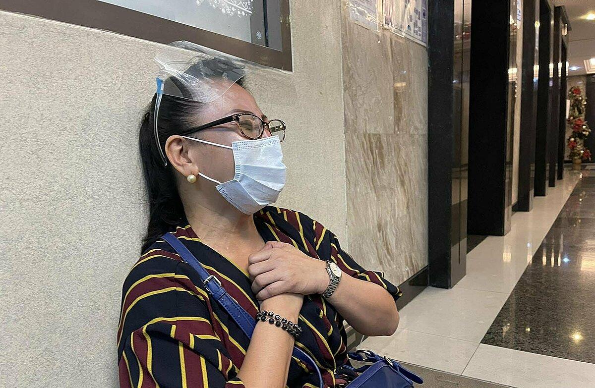Sharon Dacera khóc thảm khi biết tin con gái tử vong.