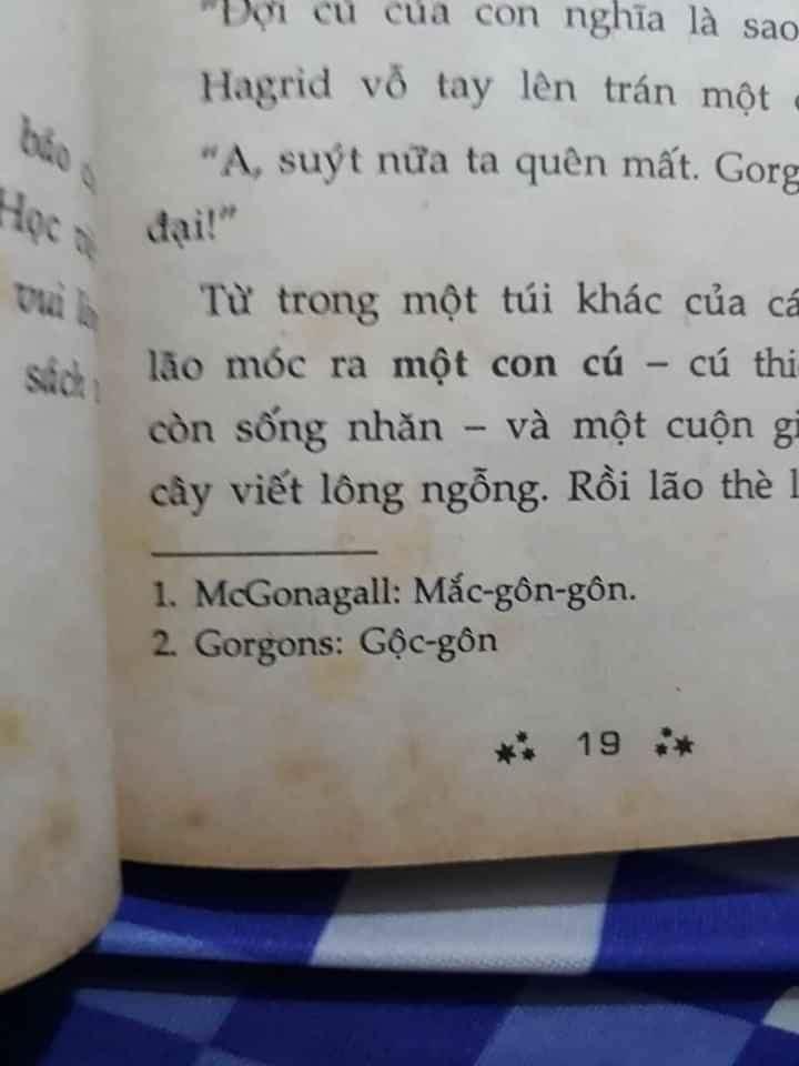 Giáo sư nhà Gryffindor hóa xa lạ trong vỏ bọc ngôn ngữ này.