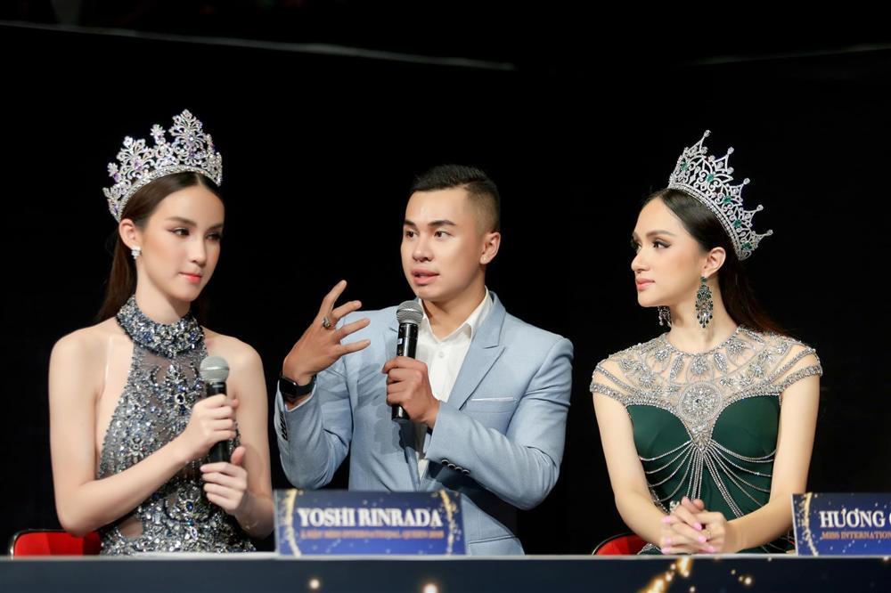 Thanh Phong đưa nhiều ngôi sao Thái Lan về nước, tham dự các chương trình Hương Giang tổ chức.