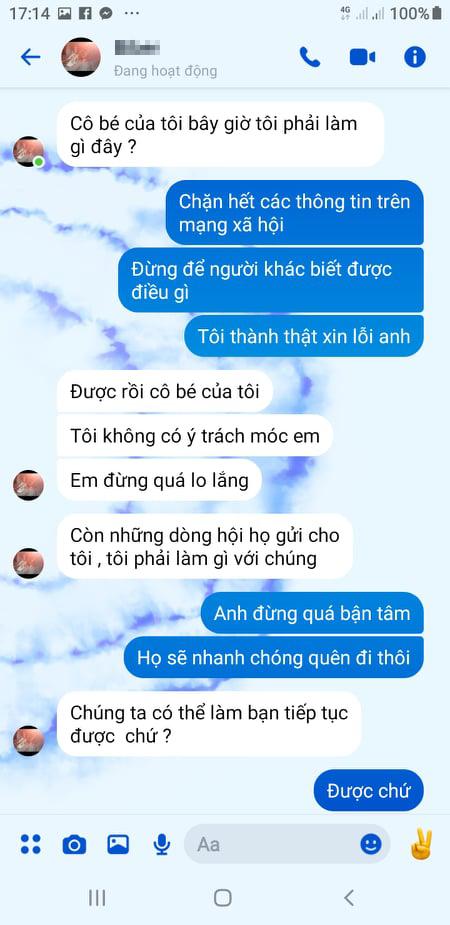 Dương Xuân chia sẻ thêm với iOne tin nhắn Lucas gửi cho cô sau khi bỗng dưng nổi tiếng.