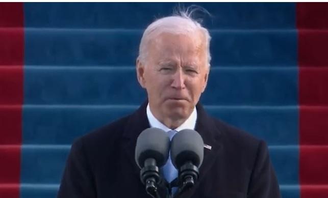 Joe Biden bị chế ảnh vì tóc te tua trong ngày nhậm chức Tổng thống - 1