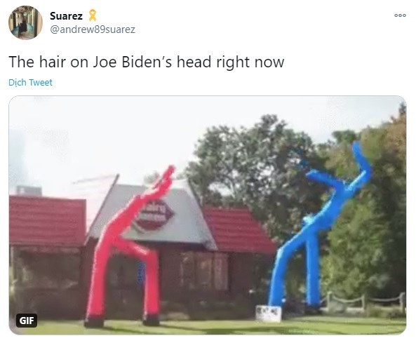 Joe Biden bị chế ảnh vì tóc te tua trong ngày nhậm chức Tổng thống - 9