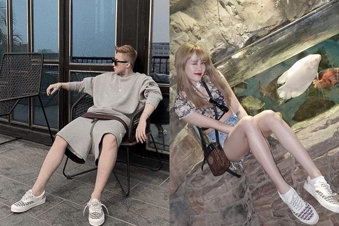 Những món đồ đôi của Sơn Tùng và Thiều Bảo Trâm đến từ nhiều thương hiệu, từ bình dân như Nike, Fila đến đắt đỏ như Gucci, Louis Vuitton, Burberry...