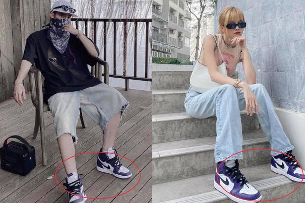 Đây là đôi giày thể thao yêu thích của Thiều Bảo Trâm. Nữ ca sĩ gần đây cũng thường xuyên đi đôi giày này xuống phố.