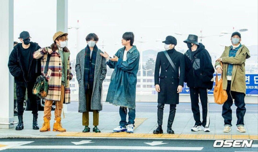 7 thành viên BTS có phong cách thời trang khác nhau.