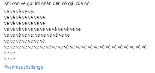 Phiên bản con ve. Nguồn: Nguyễn Ngọc Tú.