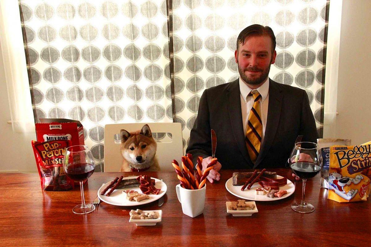 Nếm đồ ăn cho chó là công việc có thật ở Mỹ.